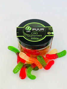 CBD 500mg Snake Gummies