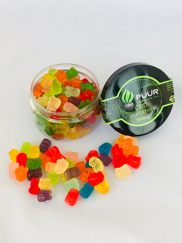 CBD 500mg Gummy Bears