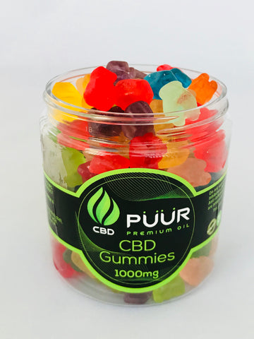 Image of CBD Gummy Bears 1000 Mg