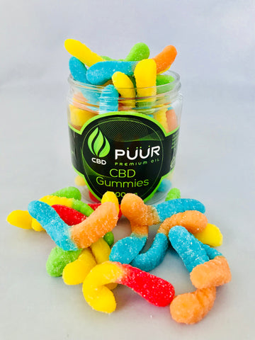 CBD Sour Snakes-1000mg