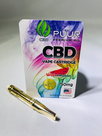 Image of CBD 750mg Gold Edition Watermelon