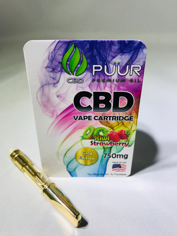 Image of CBD 750mg Gold Edition Kiwi Strawberry
