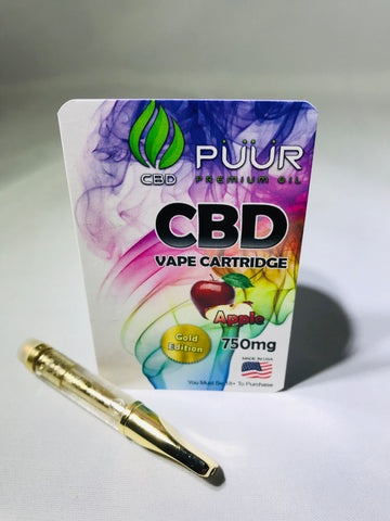 CBD 750mg Gold Edition Apple