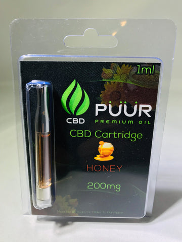 CBD 200mg  PreFilled Cartridge [Honey]