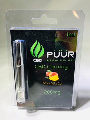 Image of CBD 200mg  PreFilled Cartridge  [Mango]