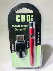 Vaping Battery Kit - Red