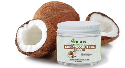 CBD COCONUT OIL 250 MG