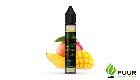 Image of CBD Vape Juice [30ml] - Mango Rush