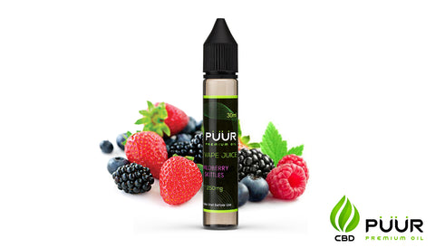 Image of CBD Vape Juice [30ml] - Wildberry Skittles