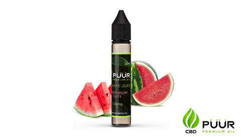 CBD Vape Juice [30ml] - Watermelon Taffy