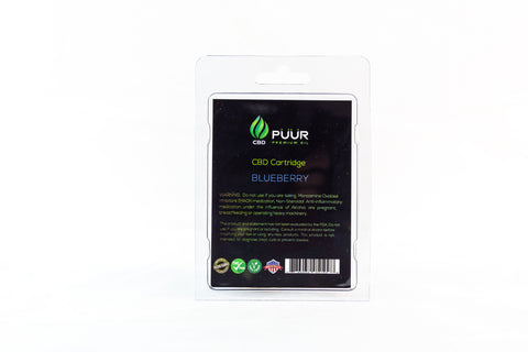 Image of CBD 200mg PreFilled Cartridge  [Blueberry]