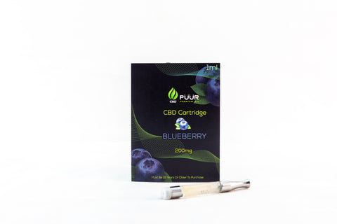 CBD 200mg PreFilled Cartridge  [Blueberry]