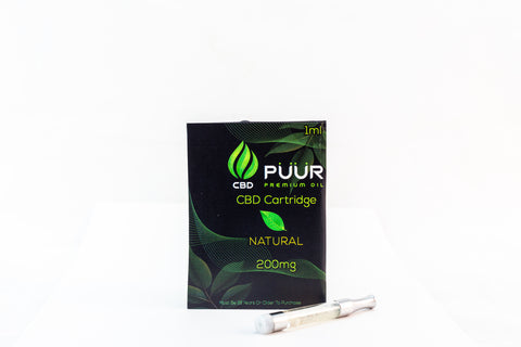 CBD 200mg PreFilled Cartridge [Natural]
