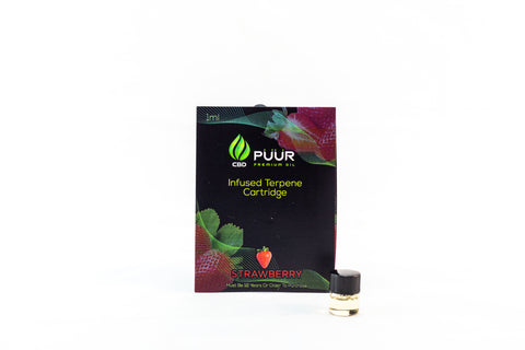 Image of 200mg Infused Terpene Cartridge [Strawberry]