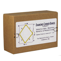 Diamond Corner Bands - Box of 10