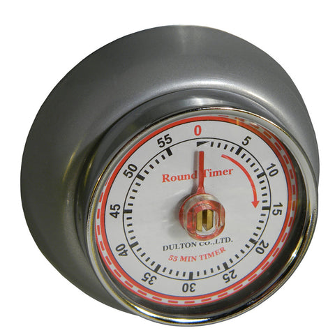 Amazing Magnetic Kitchen Timer   Silver ...