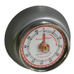 Magnetic Kitchen Timer  - Silver
