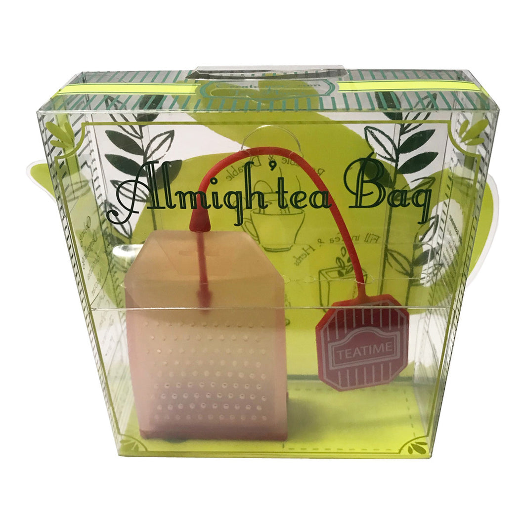 Almigh'tea silicon tea bag red