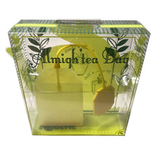 Load image into Gallery viewer, Almigh'tea silicon tea bag yellow