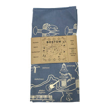 Load image into Gallery viewer, Maptote Boston Bandana Blue and White