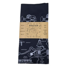 Load image into Gallery viewer, Maptote Boston Bandana Dark Blue and White