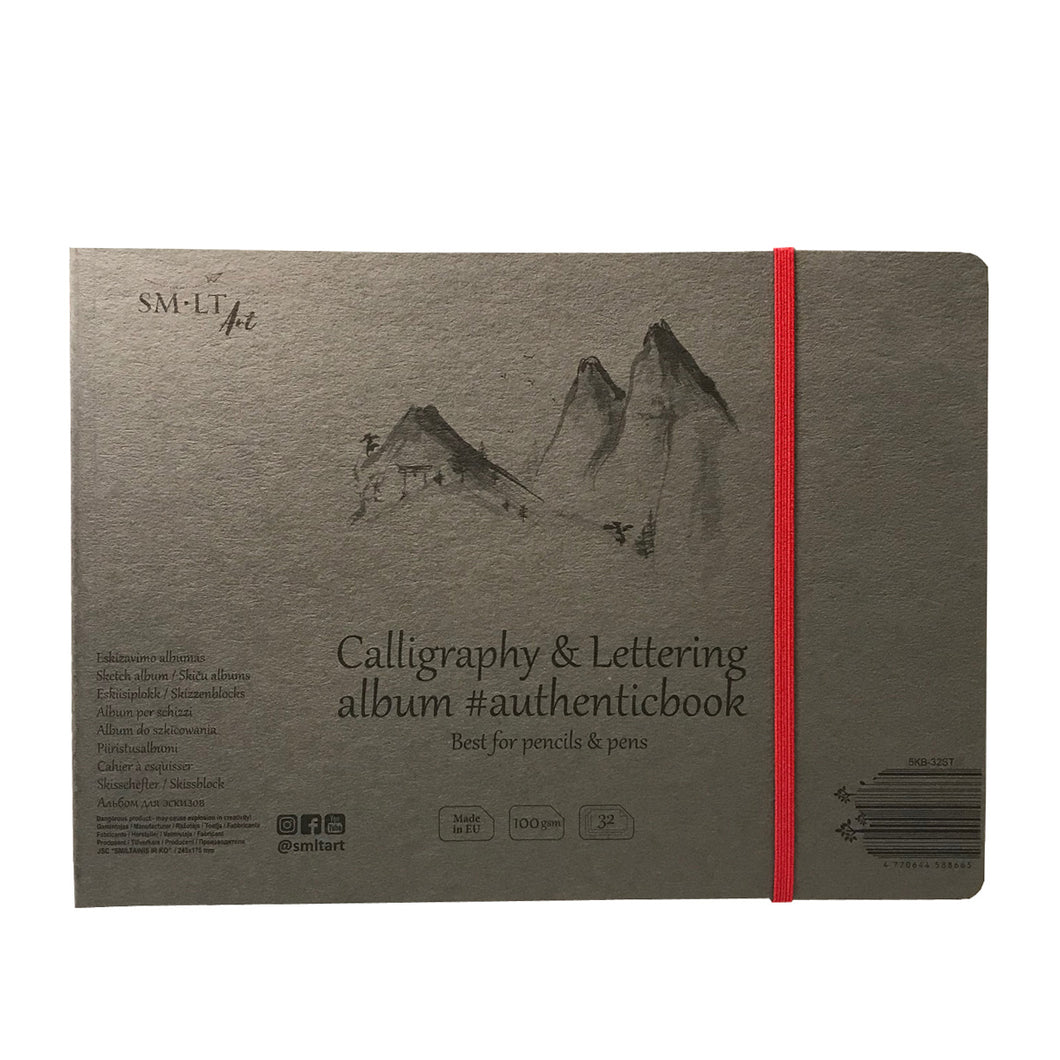 Calligraphy and Lettering Album Pencils Pens Drawing Paper