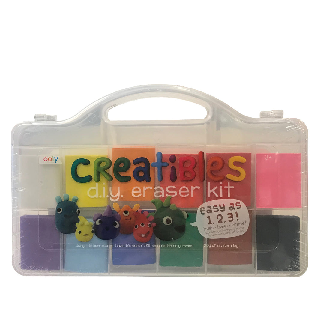 Creatibles D.I.Y. Eraser Kit