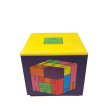 Load image into Gallery viewer, Multicolor Cubebot Cube bot Medium Multi
