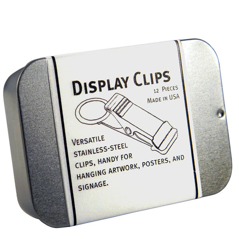 Display Clips - Box of 12