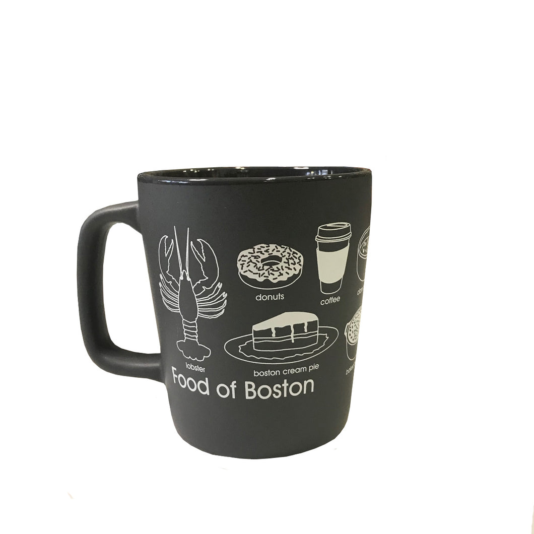 Food of Boston Mug