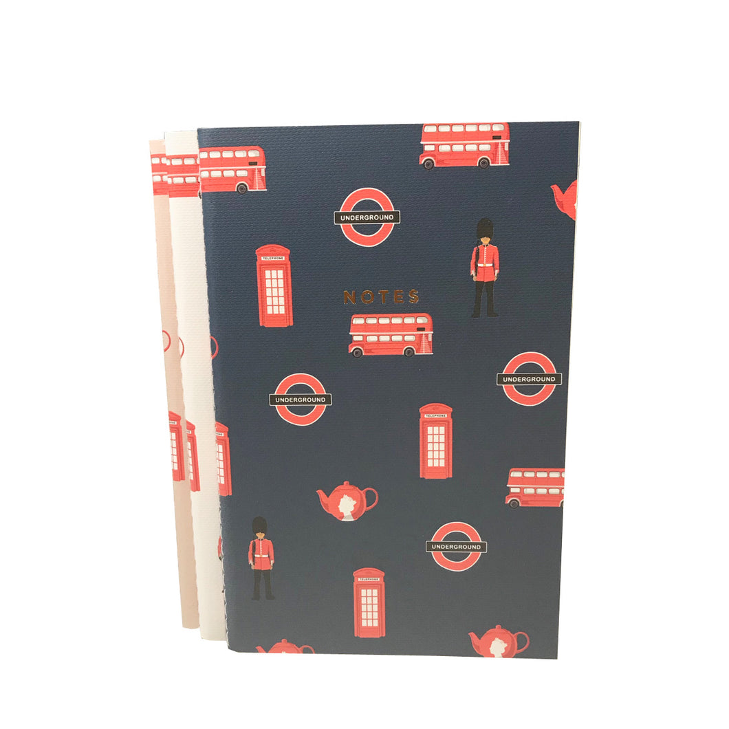 London Notebooks Pack of Three