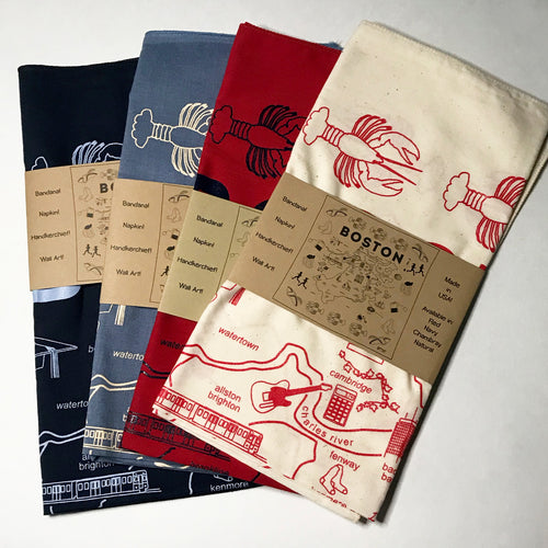 Maptote Boston Bandana
