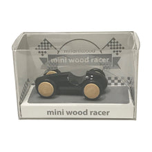 Load image into Gallery viewer, Mini Wooden Finger Racer Black