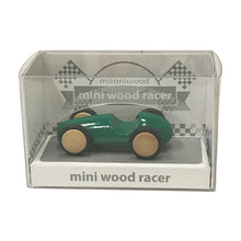 Load image into Gallery viewer, Mini Wooden Finger Racer Green
