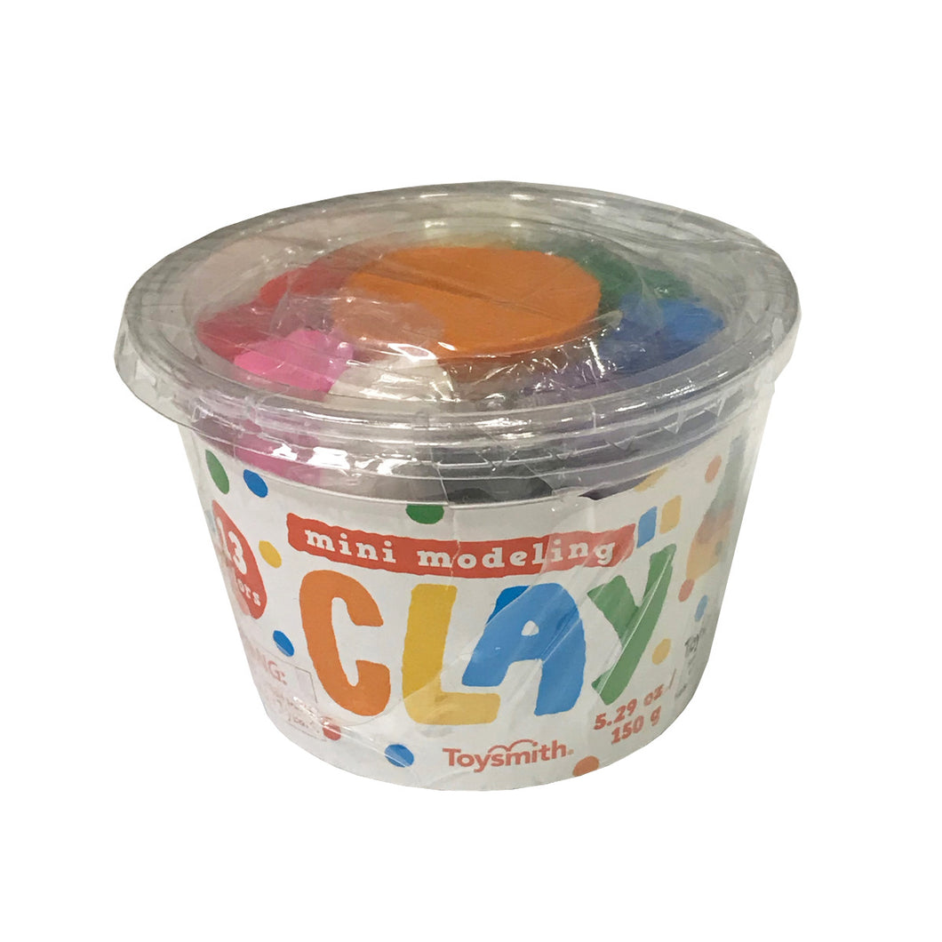Mini Modeling Clay Tub