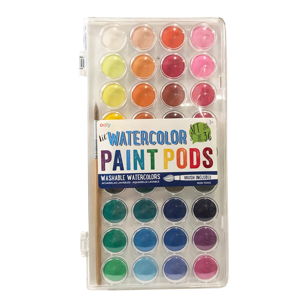 Watercolor Paint Pods