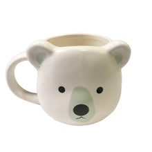 Load image into Gallery viewer, Polar Bear Mug with Handle