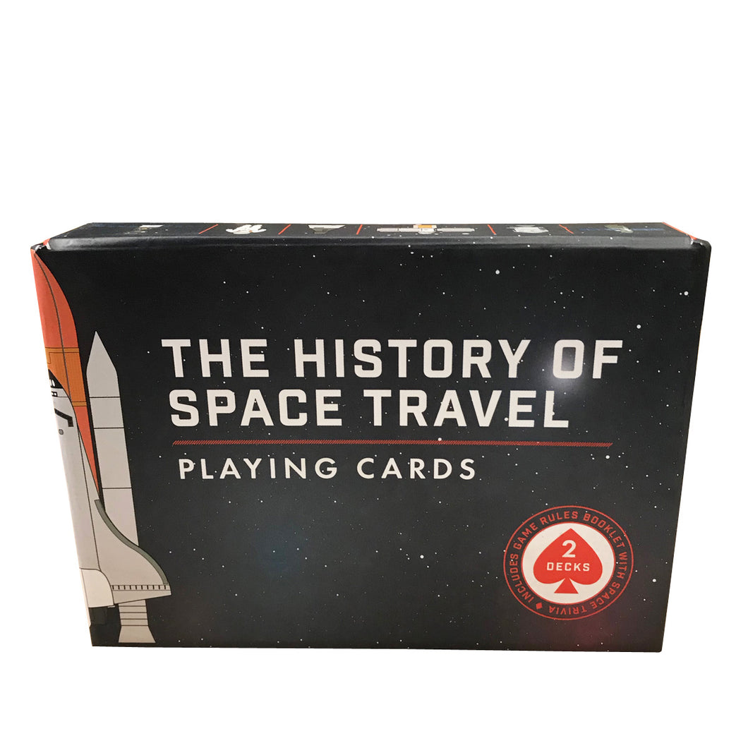 The History of Space Travel Playing Cards Bicycle Deck