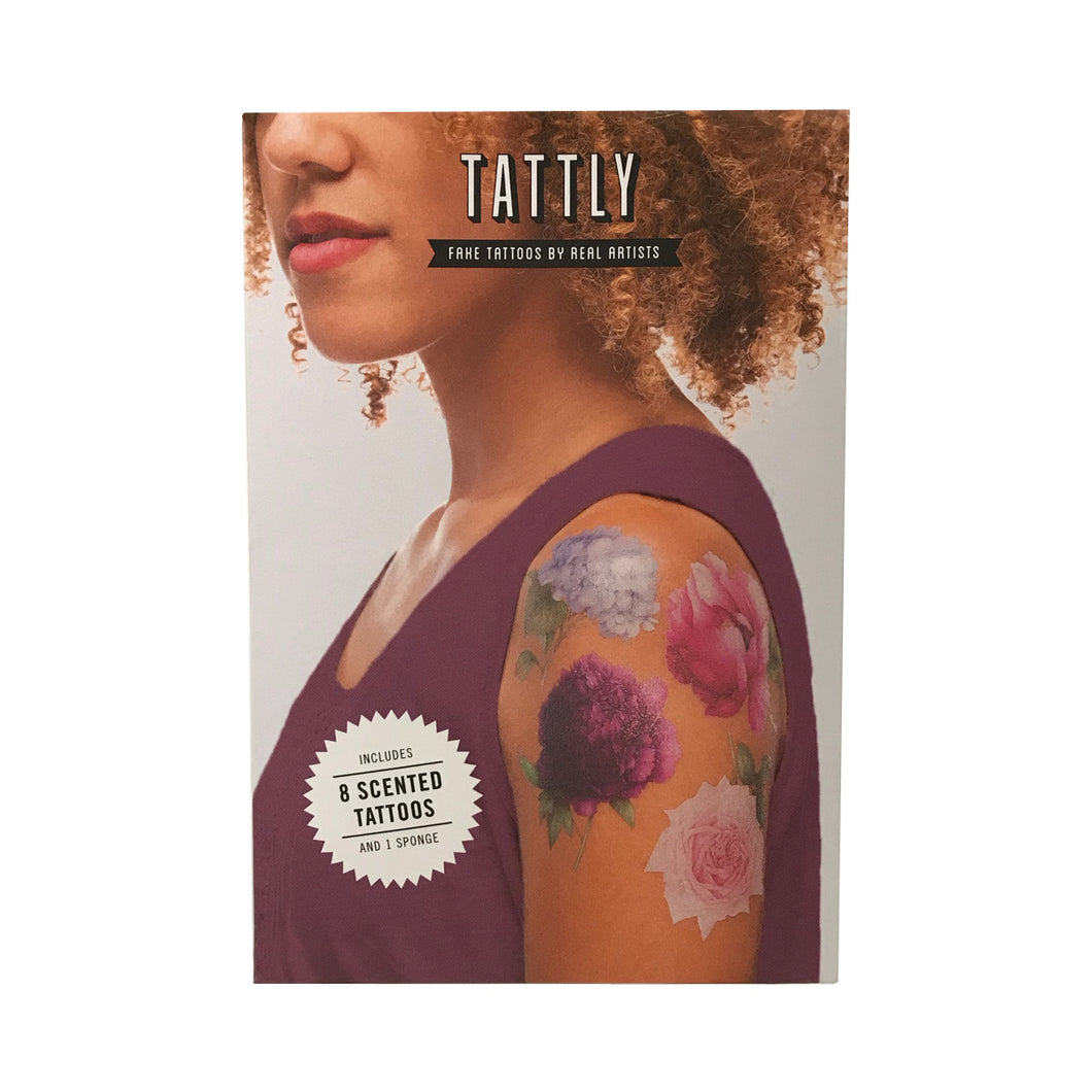 Tattly Scented Temporary Tattoo Pack - Perennial Set