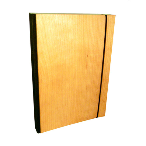 Wood Covered Notebook