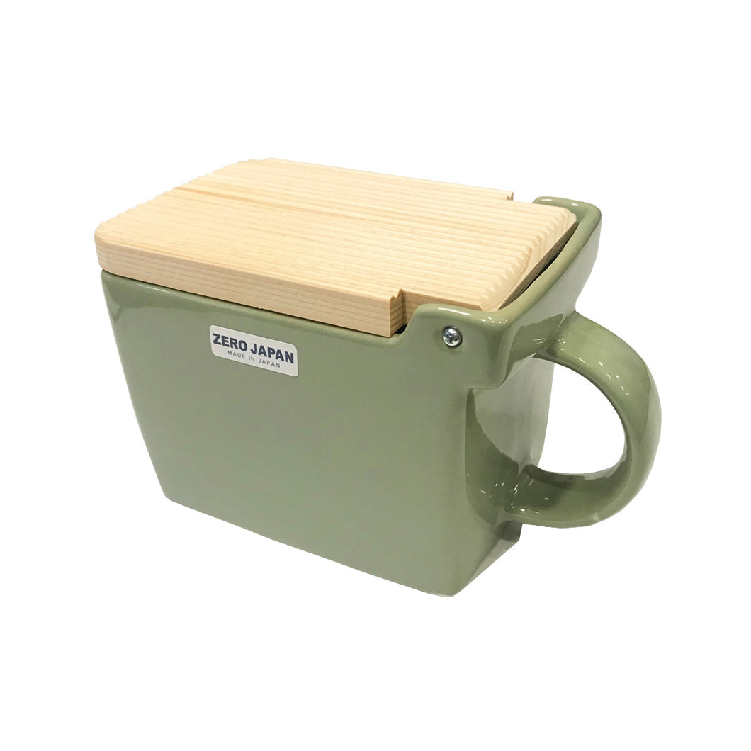 Focus America Salt Box Green