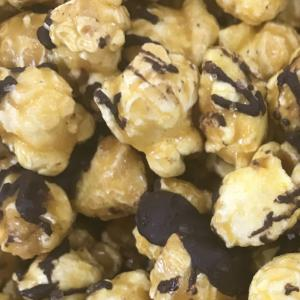 Dark Chocolate Popcorn with Sea Salt