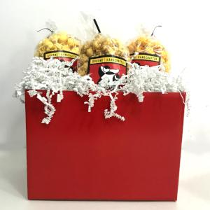 Red All Occasion Popcorn Gift Basket