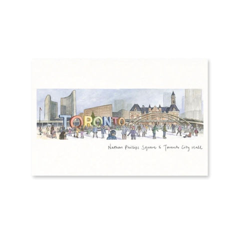 Toronto Winter Wonderland Postcard