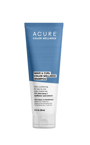 Acure Wave & Curl Color wellness Shampoo by Acure