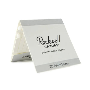 Alum Matchsticks (Pack of 20) by Rockwell Razors