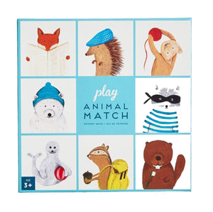 Animal Match Memory Game by Made in Brockton Village