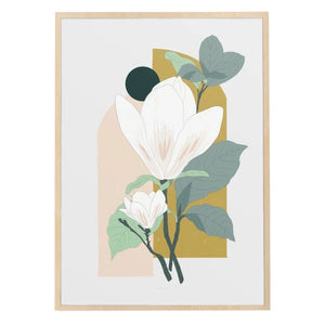 Arcade (Magnolia) Art Print by Baltic