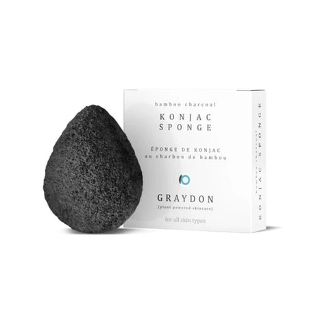 Bamboo Charcoal Sponge by Graydon Skincare