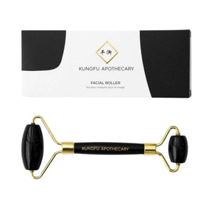Black Obsidian Facial Roller by Kungfu Apothecary